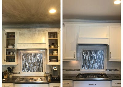 Carrie's Creations Painted Kitchen White