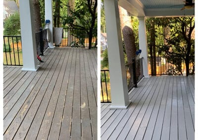 Painted Porch by Carrie's Creations